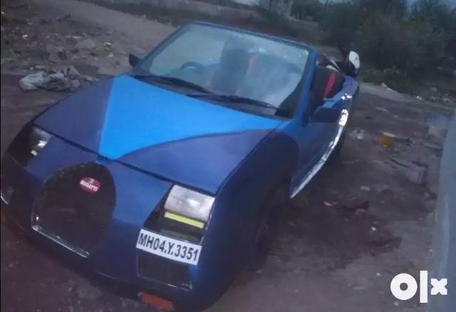 Bugatti Veyron mui trần Made in Ấn Độ làm người xem phì cười - Ảnh 1.