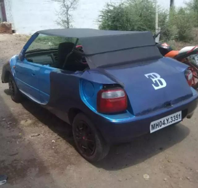 Bugatti Veyron mui trần Made in Ấn Độ làm người xem phì cười - Ảnh 3.