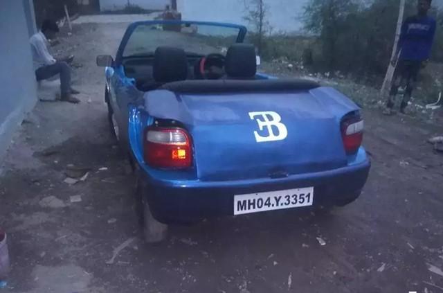 Bugatti Veyron mui trần Made in Ấn Độ làm người xem phì cười - Ảnh 2.