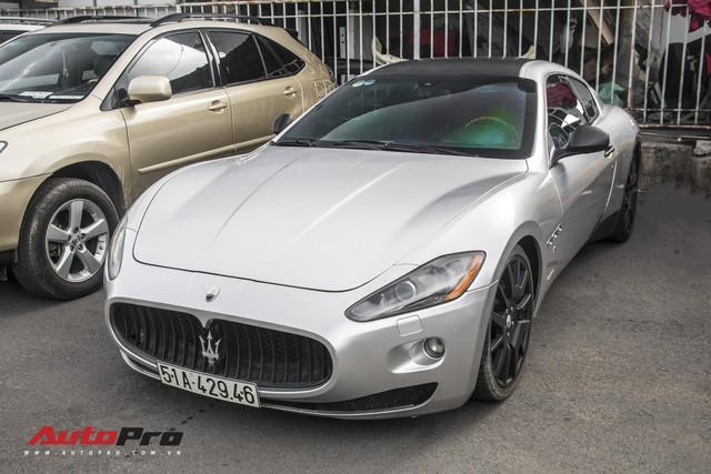 Ông Đặng Lê Nguyên Vũ mang Maserati GranTurismo đi đăng kiểm - Ảnh 2.