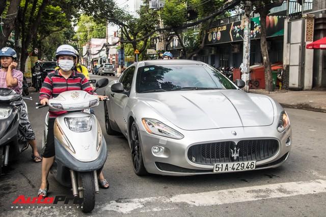 Ông Đặng Lê Nguyên Vũ mang Maserati GranTurismo đi đăng kiểm - Ảnh 5.