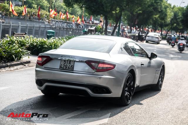 Ông Đặng Lê Nguyên Vũ mang Maserati GranTurismo đi đăng kiểm - Ảnh 12.