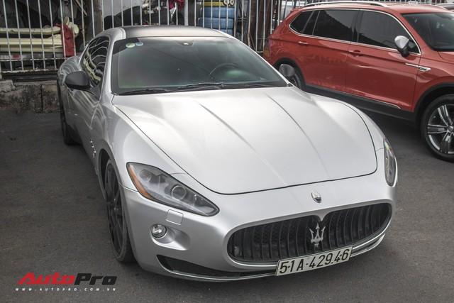 Ông Đặng Lê Nguyên Vũ mang Maserati GranTurismo đi đăng kiểm - Ảnh 7.