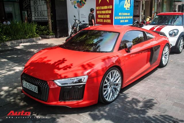 Audi R8 V10 Plus từng của Đông Nhi - Ông Cao Thắng được đại gia Sài Gòn mua lại, lên phong cách vặt logo tương tự Cường Đô-la - Ảnh 2.