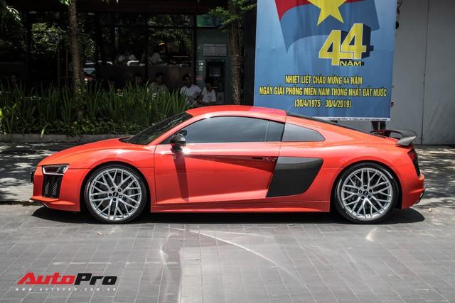 Audi R8 V10 Plus từng của Đông Nhi - Ông Cao Thắng được đại gia Sài Gòn mua lại, lên phong cách vặt logo tương tự Cường Đô-la - Ảnh 9.