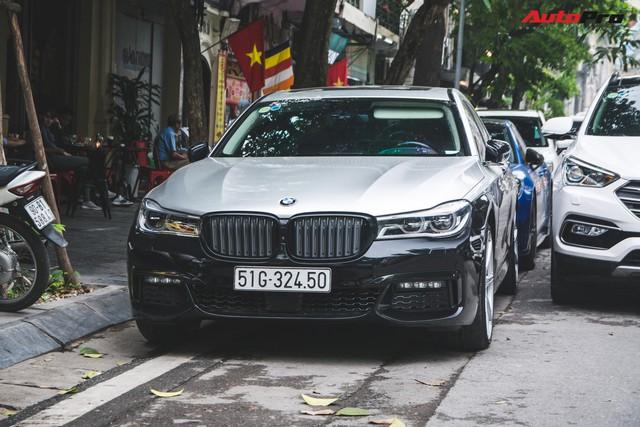 Dân chơi Hà Thành độ BMW 740Li giá 5 tỷ thành phiên bản thể thao - Ảnh 2.