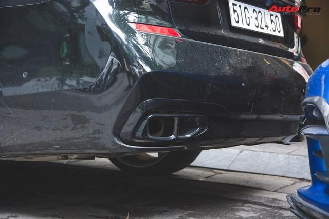 Dân chơi Hà Thành độ BMW 740Li giá 5 tỷ thành phiên bản thể thao - Ảnh 8.
