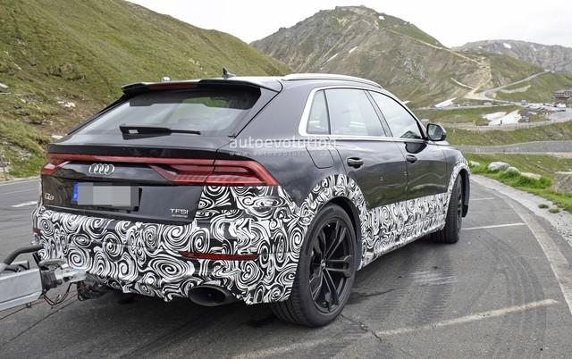 Lộ diện Audi RS Q8 - SUV khổng lồ dùng động cơ như Lamborghini Urus - Ảnh 3.