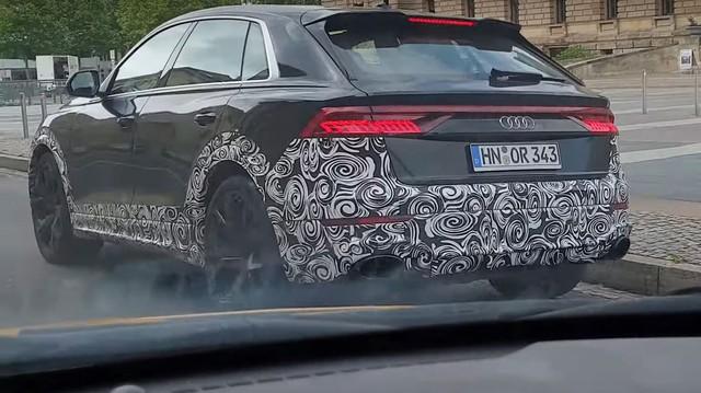Lộ diện Audi RS Q8 - SUV 'khổng lồ' dùng động cơ như Lamborghini Urus
