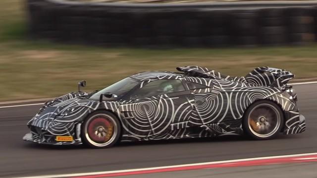 'Rồng Italia' Huayra Dragon xuất hiện trên đường chạy thử, hứa hẹn là xe đắt nhất, mạnh nhất Pagani từng sản xuất