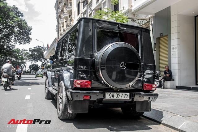 Mercedes-Benz G63 AMG biển khủng tứ quý 7 của đại gia Phú Thọ - Ảnh 3.