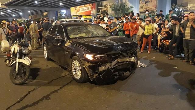 Bắt tạm giam nữ tài xế BMW gây tai nạn liên hoàn ở Hàng Xanh - Ảnh 2.
