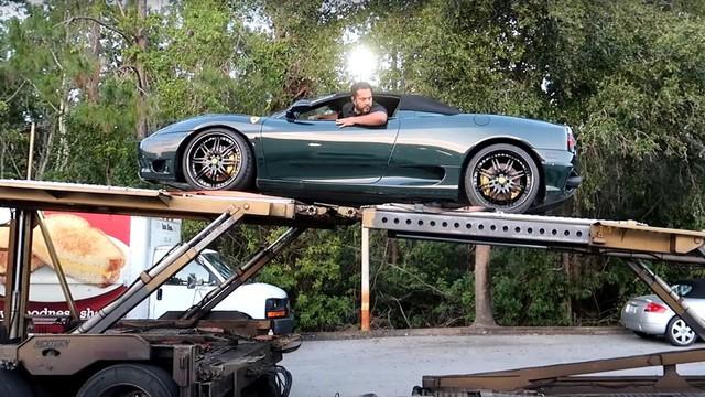 Mua siêu xe Ferrari 'nát' rồi sửa lại - bài học đắt giá cho những người ham rẻ