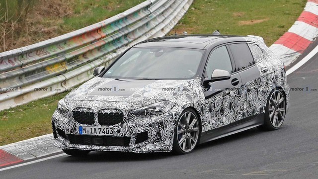 Lộ nội thất BMW 1-Series thế hệ mới: Đối lập Mercedes-Benz GLA - Ảnh 4.