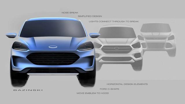 Ford Escape thiết kế lấy ý tưởng từ Focus và... siêu xe GT kết hợp BMW là 1 trong 4 điều bất ngờ được lãnh đạo hãng tiết lộ - Ảnh 4.
