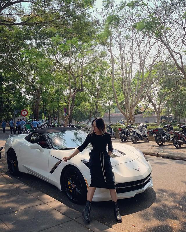 Nữ biker đình đám xứ Huế tậu Chevrolet Corvette C7 Stingray Convertible độc nhất Việt Nam - Ảnh 1.