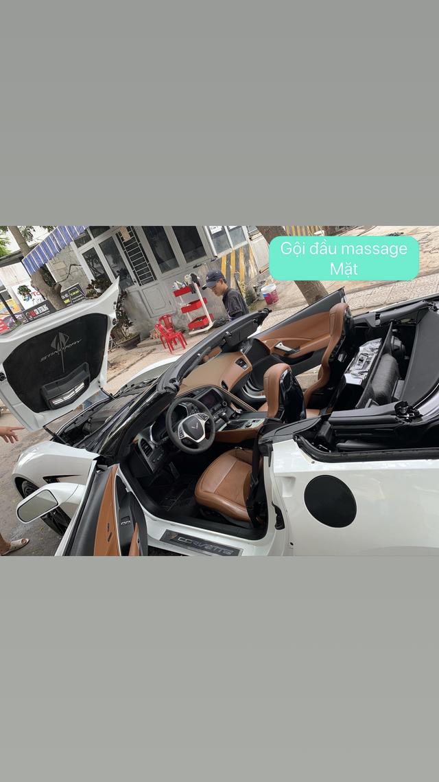 Nữ biker đình đám xứ Huế tậu Chevrolet Corvette C7 Stingray Convertible độc nhất Việt Nam - Ảnh 3.