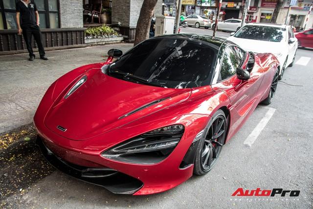 Trở lại Sài Gòn từ quê chủ nhân, hàng hiếm McLaren 720S hứa hẹn tham gia các sự kiện đình đám của giới đại gia - Ảnh 4.