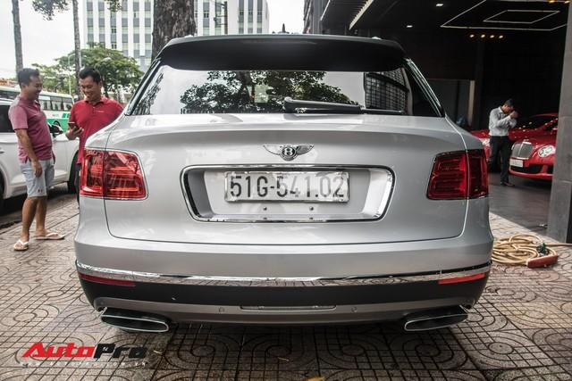 Tóm gọn Bentley Bentayga First Edition của ông Đặng Lê Nguyên Vũ đi bảo dưỡng - Ảnh 5.