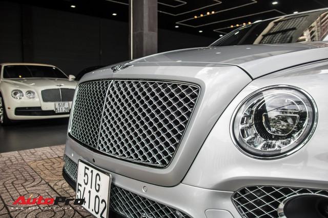 Tóm gọn Bentley Bentayga First Edition của ông Đặng Lê Nguyên Vũ đi bảo dưỡng - Ảnh 16.