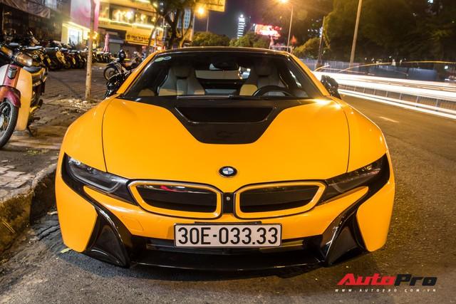 Đã độc vì biển số tứ quý 3, BMW i8 còn nổi bật hơn nhờ chi tiết này - Ảnh 2.