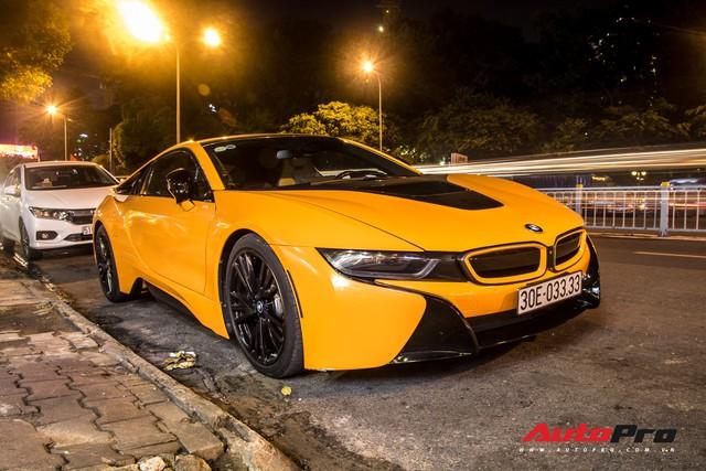 Đã độc vì biển số tứ quý 3, BMW i8 còn nổi bật hơn nhờ chi tiết này - Ảnh 7.