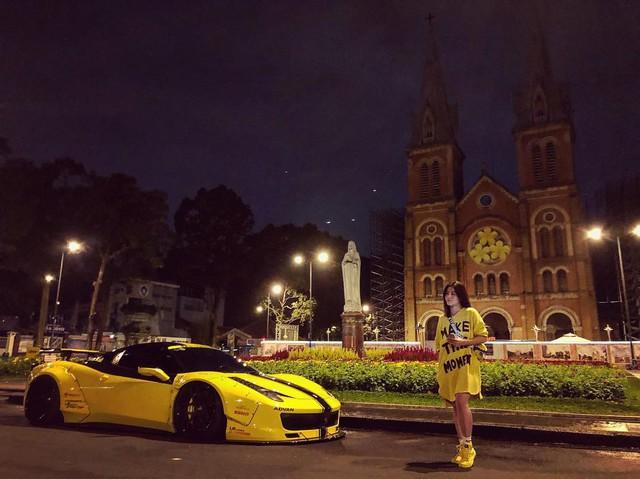 Hot girl 9x xuất hiện bên cạnh một loạt siêu xe, xe thể thao đình đám ở Việt Nam là ai? - Ảnh 3.