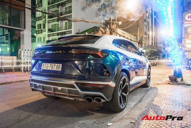 Minh nhựa lái siêu SUV Lamborghini Urus đi ăn đêm sau khi nhận Mercedes-AMG G63 Edition 1 - Ảnh 4.