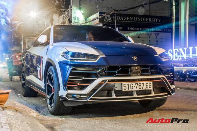 Minh nhựa lái siêu SUV Lamborghini Urus đi ăn đêm sau khi nhận Mercedes-AMG G63 Edition 1 - Ảnh 2.