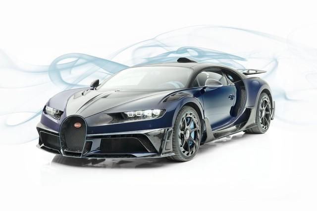 Mới đi 23km, dân chơi đã bán tháo Bugatti Chiron độ Mansory với giá đắt đỏ nhất thế giới - Ảnh 1.