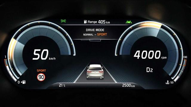 SUV đô thị Kia XCeed đẹp như xe Âu tiếp tục lộ nội thất giống Telluride - Ảnh 1.