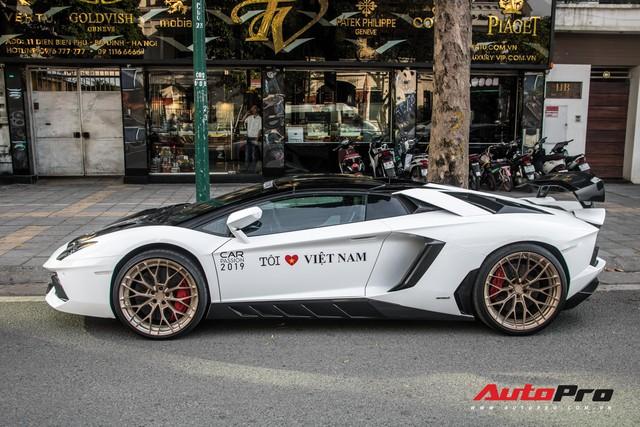 Đại gia đồng hồ Hà Nội mang Lamborghini Aventador Roadster độ khủng tham dự hành trình Car Passion 2019 - Ảnh 4.