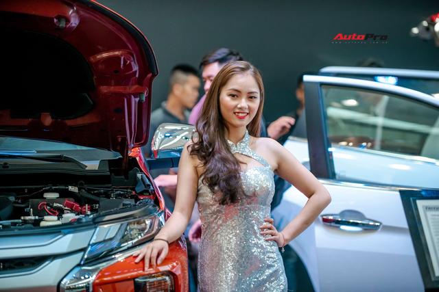 Ngắm thần thái dàn 'chân dài' tại triển lãm Auto Expo 2019 - Ảnh 10.