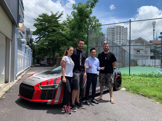 Lộ diện chiếc siêu xe của doanh nhân Nguyễn Quốc Cường tham dự Car Passion 2019 - Ảnh 1.