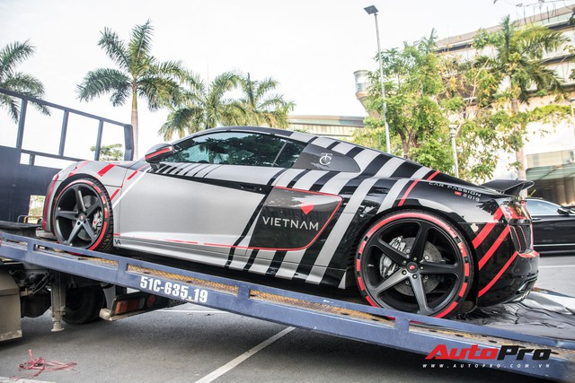 Nguyễn Quốc Cường chính thức xuất hiện tại Car Passion 2019 cùng siêu xe Audi R8 - Ảnh 2.