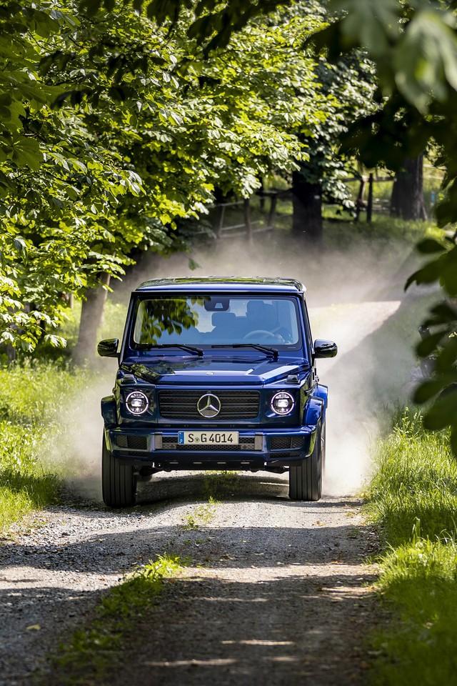 Stronger Than Time, mẫu xe kỷ niệm sinh nhật tuổi 40 của Mercedes-Benz G-Class - Ảnh 14.