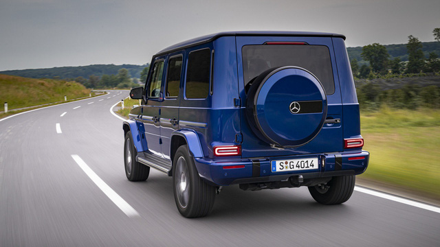 Stronger Than Time, mẫu xe kỷ niệm sinh nhật tuổi 40 của Mercedes-Benz G-Class - Ảnh 7.