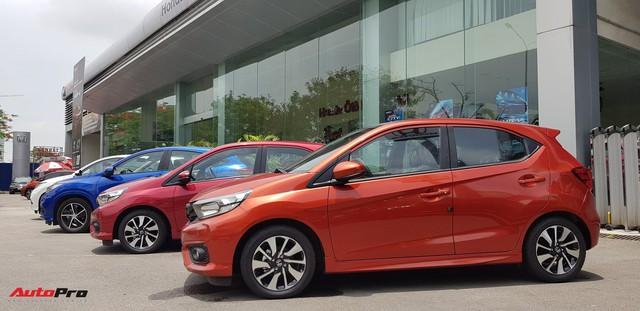 Chi tiết Honda Brio vừa về đại lý, đối thủ mới của VinFast Fadil và Hyundai Grand i10 chỉ còn chờ giá bán chính thức - Ảnh 4.