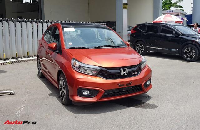 Chi tiết Honda Brio vừa về đại lý, đối thủ mới của VinFast Fadil và Hyundai Grand i10 chỉ còn chờ giá bán chính thức - Ảnh 2.