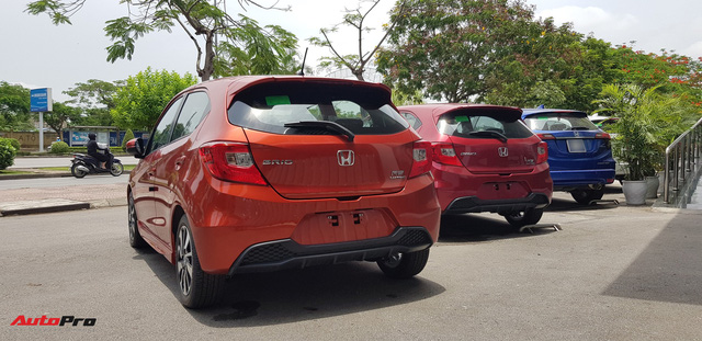 Chi tiết Honda Brio vừa về đại lý, đối thủ mới của VinFast Fadil và Hyundai Grand i10 chỉ còn chờ giá bán chính thức - Ảnh 5.