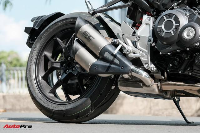 Honda CB1000R Plus Limited Edition giới hạn 350 chiếc trên toàn thế giới ồ ạt đổ bộ Việt Nam, giá ngang ô tô hạng B - Ảnh 10.