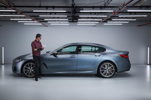 Đấu Mercedes-Maybach S-Class, BMW 8-Series 4 cửa lộ ảnh chi tiết trước ngày ra mắt  - Ảnh 2.
