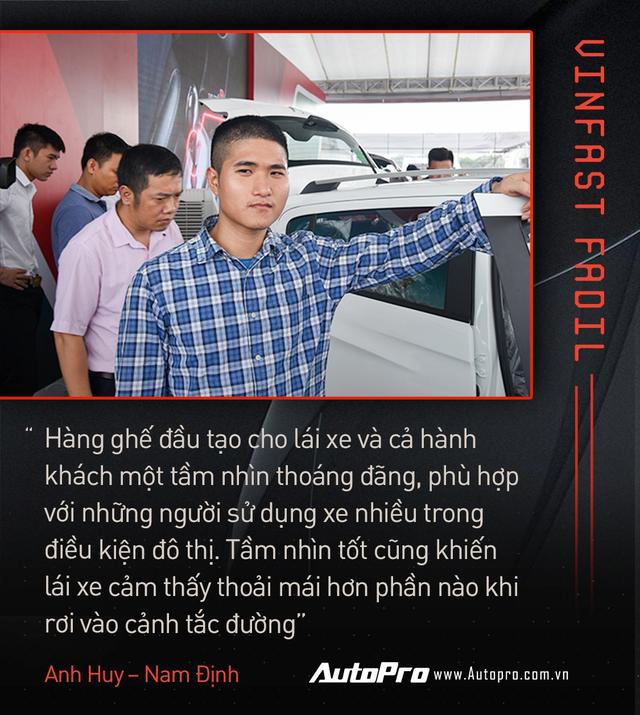 Khách Việt hết lời khen VinFast Fadil trong ngày nhận xe quy mô kỷ lục Việt Nam - Ảnh 8.