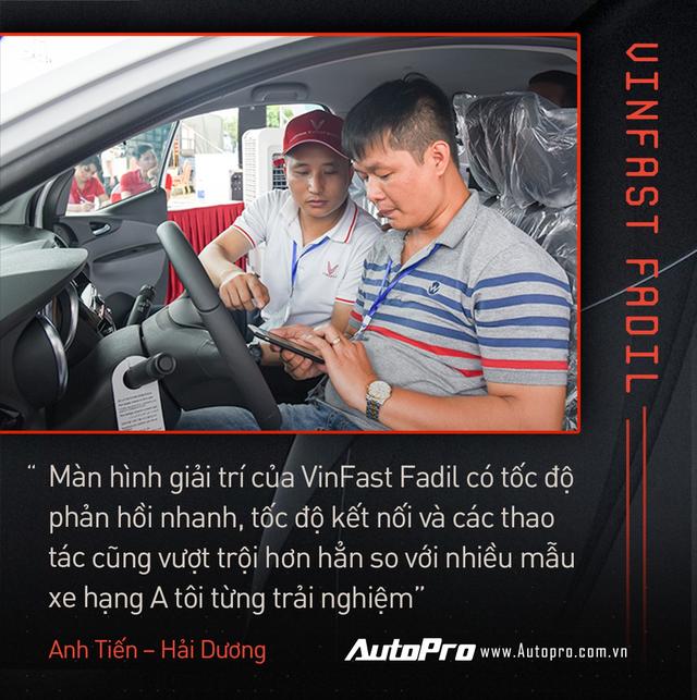 Khách Việt hết lời khen VinFast Fadil trong ngày nhận xe quy mô kỷ lục Việt Nam - Ảnh 4.