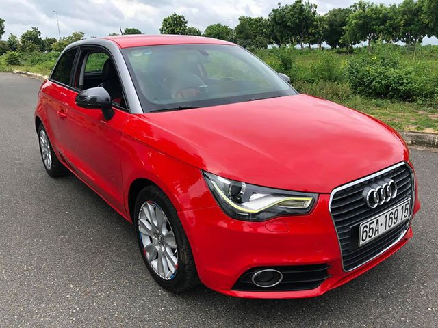 Audi A1 chỉ đắt hơn VinFast Fadil 50 triệu đồng sau 7 năm tuổi - Ảnh 1.