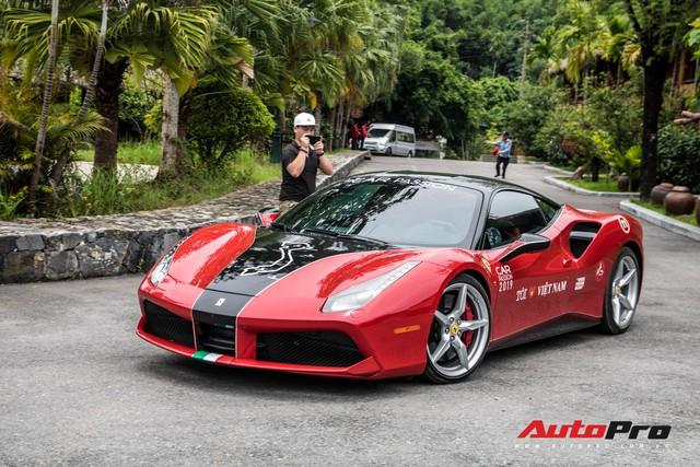 Ferrari 488 GTB hàng thửa của đại gia Hà Nội bất ngờ xuất hiện ở chặng cuối Car Passion 2019 - Ảnh 2.