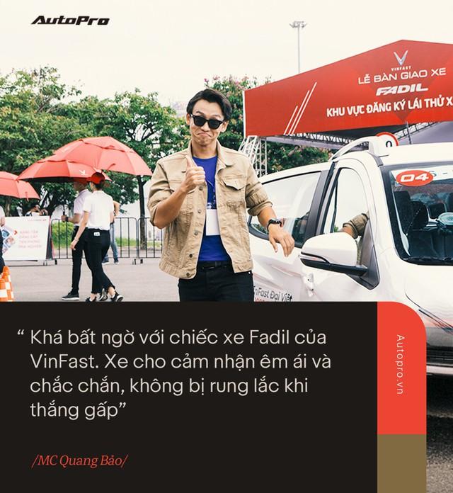 VinFast Fadil đốn tim sao Việt ở những điểm này ngay trong lần trải nghiệm đầu tiên - Ảnh 15.