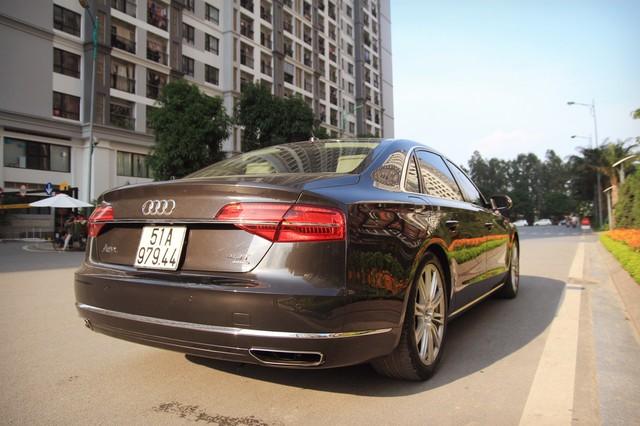 Audi A8 L 2015 giá gần 2,9 tỷ đồng, lựa chọn cho người chán Mẹc S, Bim 7 - Ảnh 3.