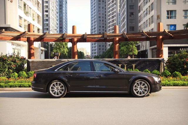 Audi A8 L 2015 giá gần 2,9 tỷ đồng, lựa chọn cho người chán Mẹc S, Bim 7 - Ảnh 2.