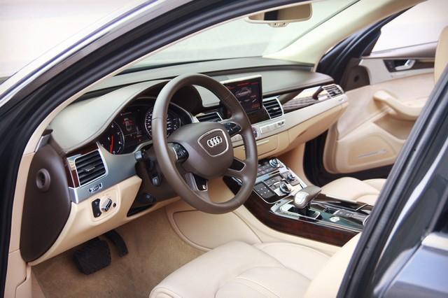 Audi A8 L 2015 giá gần 2,9 tỷ đồng, lựa chọn cho người chán Mẹc S, Bim 7 - Ảnh 4.